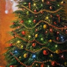 'I simboli del Natale' - Acrilici e olio su tela 50x100 - 2012