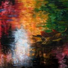 'Passaggio' - Acrilici e olio su tela 100x70 - 2012