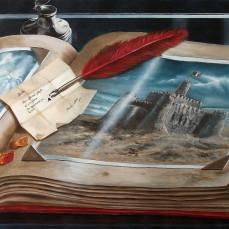 'Album dei ricordi' - Acrilici e olio su tela 100x70 - 2014