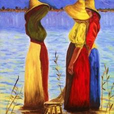 'Mondine' - Olio su tela 35x50 - 2009